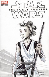 Star Wars - Sketch Cover