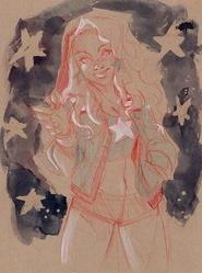 America Chavez - Sketch