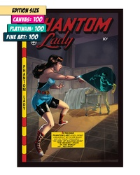 PHANTOM LADY 15: THE WALKING DEAD VS DARK KNIGHT