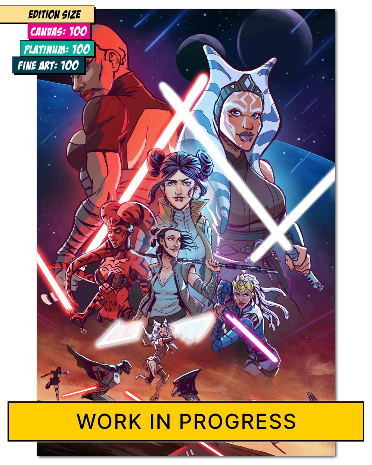 STAR WARS: WOMAN OF THE FORCE
