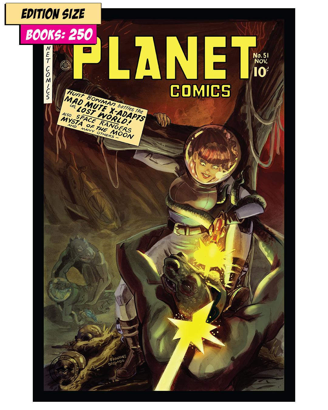 Book - PLANET COMICS #51 PARTIAL: REPRINT